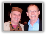 Arthur Hull (Father of Modern Drum Circle Facilitation) and Jack Dukes