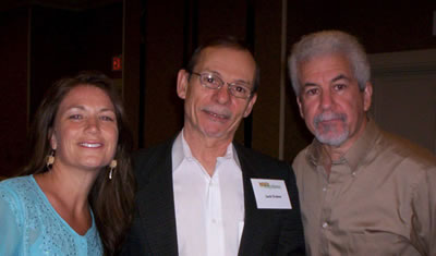 photo of Jack Dukes with Christine Stevens and Dr. Bittman